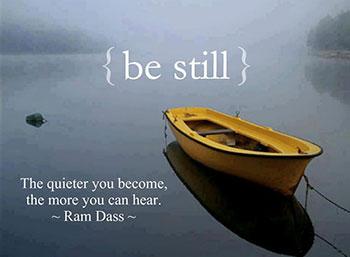 be-still-listen